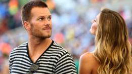 Brady y Gisele Bündchen