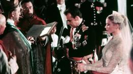 La boda del príncipe Rainiero con Grace Kelly