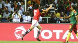 مباراة مصر والكاميرون في نهائي أمم أفريقيا 2017.