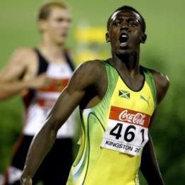 Usain Bolt en 2003