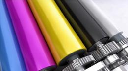 Los colores de impresión a color