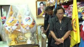 Royal memorabilia shop