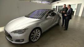 Elon Musk with Rory Cellan-Jones
