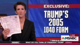MSNBC host Rachel Maddow