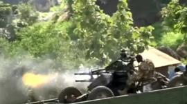 Gunfire in South Sudan