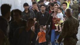 Migrants in Macedonia