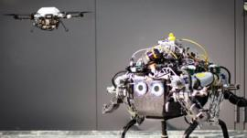Robots that communicate with each other