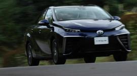 Toyota's Mirai car