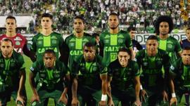 The Chapecoense football team