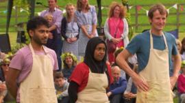 Great British Bake Off finalists