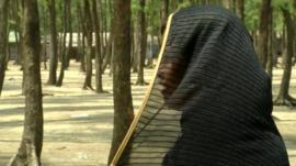 'Laila', a Rohingya woman in Bangladesh