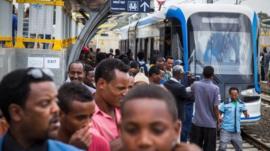 Addis Ababa train