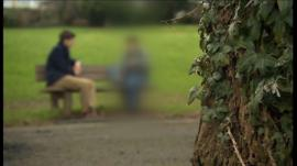 BBC Wales reporter Ben Price interviews a father about his experience