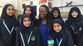 Ayshah speaks to young Muslim girls about Nadiya