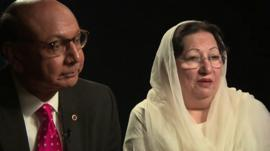Khizr and Ghazala Khan