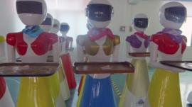 Robot waitresses