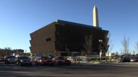African American Museum located near Washington Monument