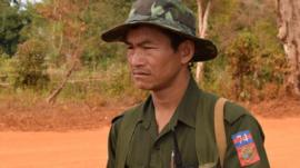 Shan State Army-North soldier