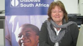 Margot McKuskey of Diabetes South Africa