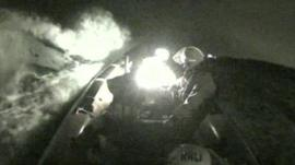 RNLI Caitlin Ruddy rescue footage