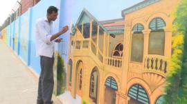 Artwork in Karachi