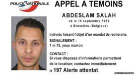 Poster issued by French police