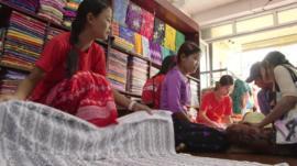 Shop in Hinthada, Myanmar