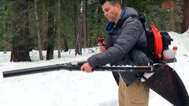 The snowball machine gun