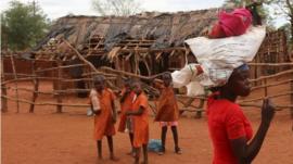 villagers in Zimbabwe