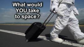 astronaut pulling case