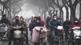 A look at life inside China's most polluted city. Shijiazhuang is currently underneath a thick layer of toxic smog.