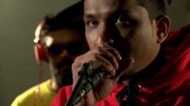 Rapper Vivian Fernandes, aka Divine