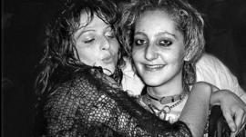 Punk women in the 1970s
