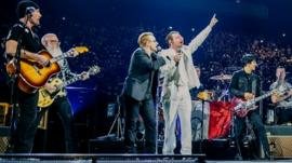 Eagles and Bono