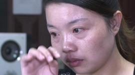 Chinese woman separated from family in Kenya