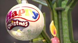 A Christmas bauble