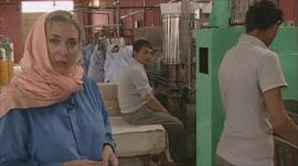 Caroline Wyatt visits a factory in northern Afghanistan
