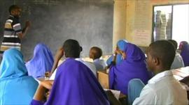 School in a village in Kenya