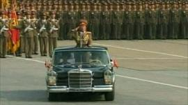 Military parade in Pyongyang