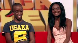 Roger Nsengiyumva and Sherrie Silver