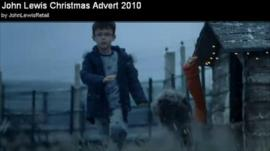 John Lewis Christmas Advert on YouTube