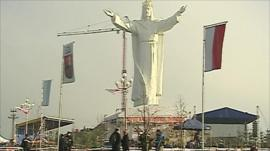 Poland's statue of Jesus
