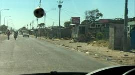 Gugulethu township, SA, where Anni Dewani, 28, was killed