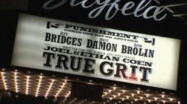 True Grit premiere in New York