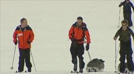 Walking with the Wounded training in the Arctic