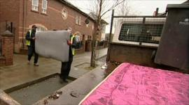 Council refuse workers