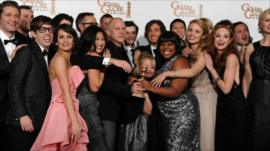 Cast/crew of Glee
