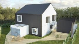 An image of the eco-house