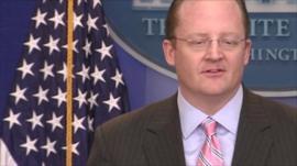 White House Press Secretary Robert Gibbs