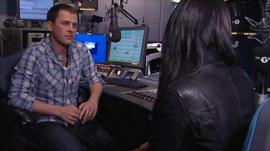 Scott Mills speaking to Sam Naz